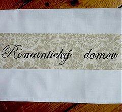 Úžitkový textil - Utěrka - Romantický domov - 2456234