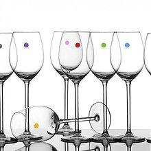 Dekorácie - Party bodky na poháre (150 ks) - funkčné nálepky na poháre - 2467571