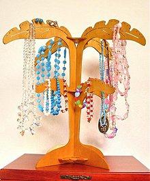 Pomôcky - Stojan na náhrdelníky a bižutériu 4 lístkový - typ B - 2468834