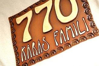 Tabuľky - Číslo na dom - 2475727