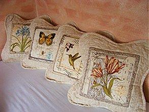 Úžitkový textil - Vintage vankúšiky - 2476732