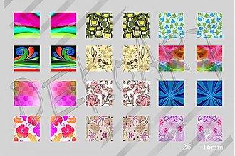 Materiál ručne robený - Motívy na šperky č. 26- akcia 4 +1 zdarma na všetky motívy - 2479240