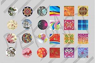Materiál ručne robený - Motívy na šperky č. 28- akcia 4+1 zdarma na všetky motívy - 2479278