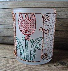 Svietidlá a sviečky - Pán, pán, tulipán - 2480174