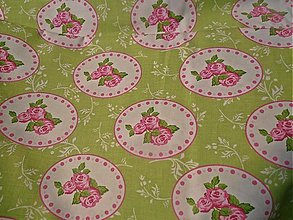 Textil - zelená romantika - 2481229