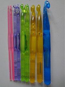 Pomôcky/Nástroje - Sada 9ks plastových háčikov - 2483199