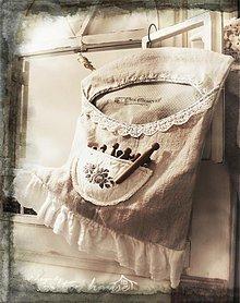 Úžitkový textil - kapsár Vintage Rose - 2483362