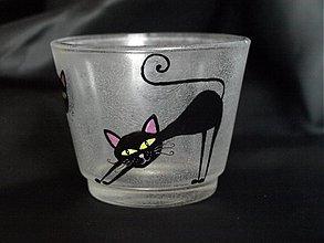 Svietidlá a sviečky - Svietnik - Three Kittens - 2485079