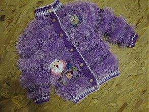 Detské oblečenie - pasikava chlpatka. - 2488701