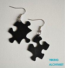 Náušnice - Puzzle - 2490347