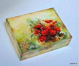Krabičky - Vlčie maky na lúke - 2496993