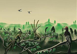 Grafika - Paleoart - A4 print (6 rôznych na výber) - 2497844