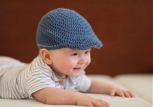 Detské čiapky - retrobaretka - 2498222
