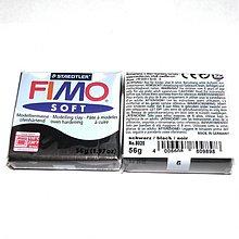 Modelovacie hmoty - 0248 FIMO soft č. 9 - čierna, 56 g - 250126