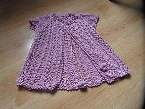 Detské oblečenie - ružová vestička - 2501394