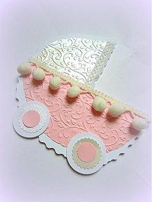 Papiernictvo - Kočíček pre princeznú... - 2504641