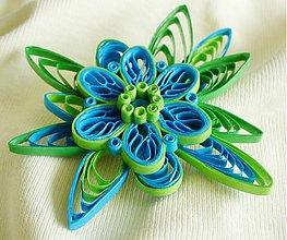 Odznaky/Brošne - Blue, green - 2515731