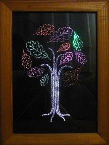 Obrazy - Obraz - svietiaci strom - 2516396