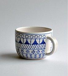 Nádoby - šálka stredná modranska - 2519336