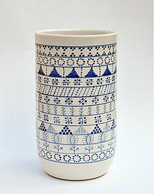 Nádoby - váza modranska - 2519852