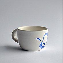 Nádoby - šálka stredná Ludevít modrý - 2520015