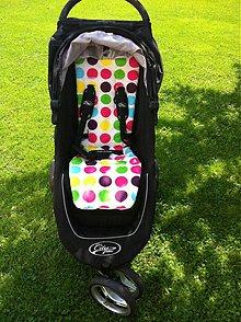 Textil - Baby Jogger City Mini v novom šate - 2522289