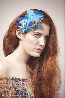 Ozdoby do vlasov - Tyrkis Tizian by Hogo Fogo - 2526832