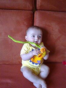 Detské oblečenie - slniečkové body - 2528031