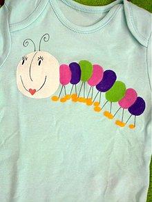 Detské oblečenie - húsenička body - 2530244