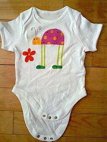 Detské oblečenie - lienkové body - 2530296