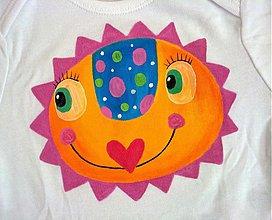 Detské oblečenie - slniečkové body - 2530332