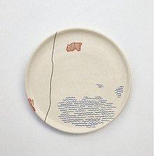 Nádoby - tanier stredný mapa - 2534150