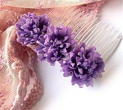 Ozdoby do vlasov - Chryzantémový hrebienok - 2535034
