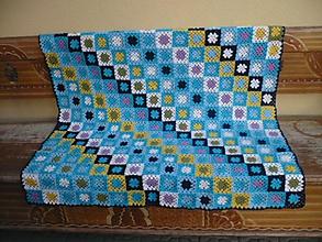 Úžitkový textil - patCHwork_bLUe - 2538071