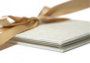 Papiernictvo - Minifotokniha- Leporelo Cream na 10ks foto 13x18 cm - 2539167