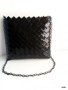 Kabelky - čierna kabelka na plece - 2539530