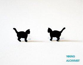 Náušnice - Mačičky - 2539582