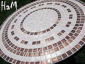 Nábytok - Mozaikový stolík Elegance (predaný) - 2542763