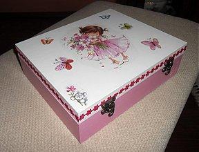 Krabičky - Dievčenská šperkovnica I. - 2543332