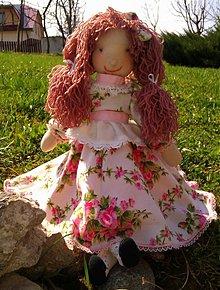 Bábiky - Ružová Anička - 2543860
