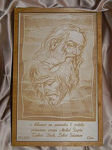 Dekorácie - Poďakovanie obraz 1.sväte - 2544632