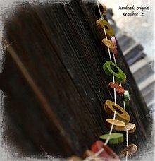 Tabuľky - girlanda drevená - 2544861