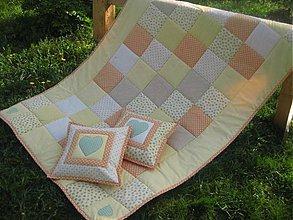 Úžitkový textil - jemnučká, vanilková, marhuľová... - 2551174