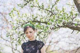 Ozdoby do vlasov - Zelená dúha - 2551214