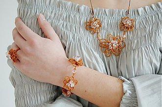 Sady šperkov - Kvety z medenej hory - 2553250