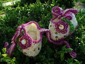 Topánočky - pohladenie leta s rúžovou - 2555040