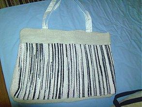 Veľké tašky - tkaná taška veľká - 2555567