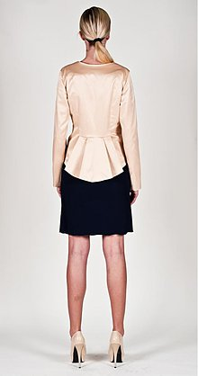 Kabáty - Extravagantné sako z bavlny v rôznych farbách - 2556067