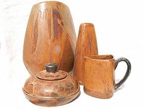 """Dekorácie - váza  set """"zem"""" - 2558002"""