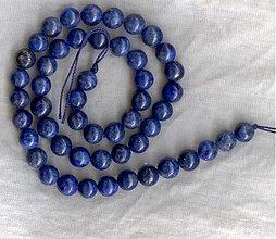 Minerály - Lapis lazuli 8 mm 1ks - 255864